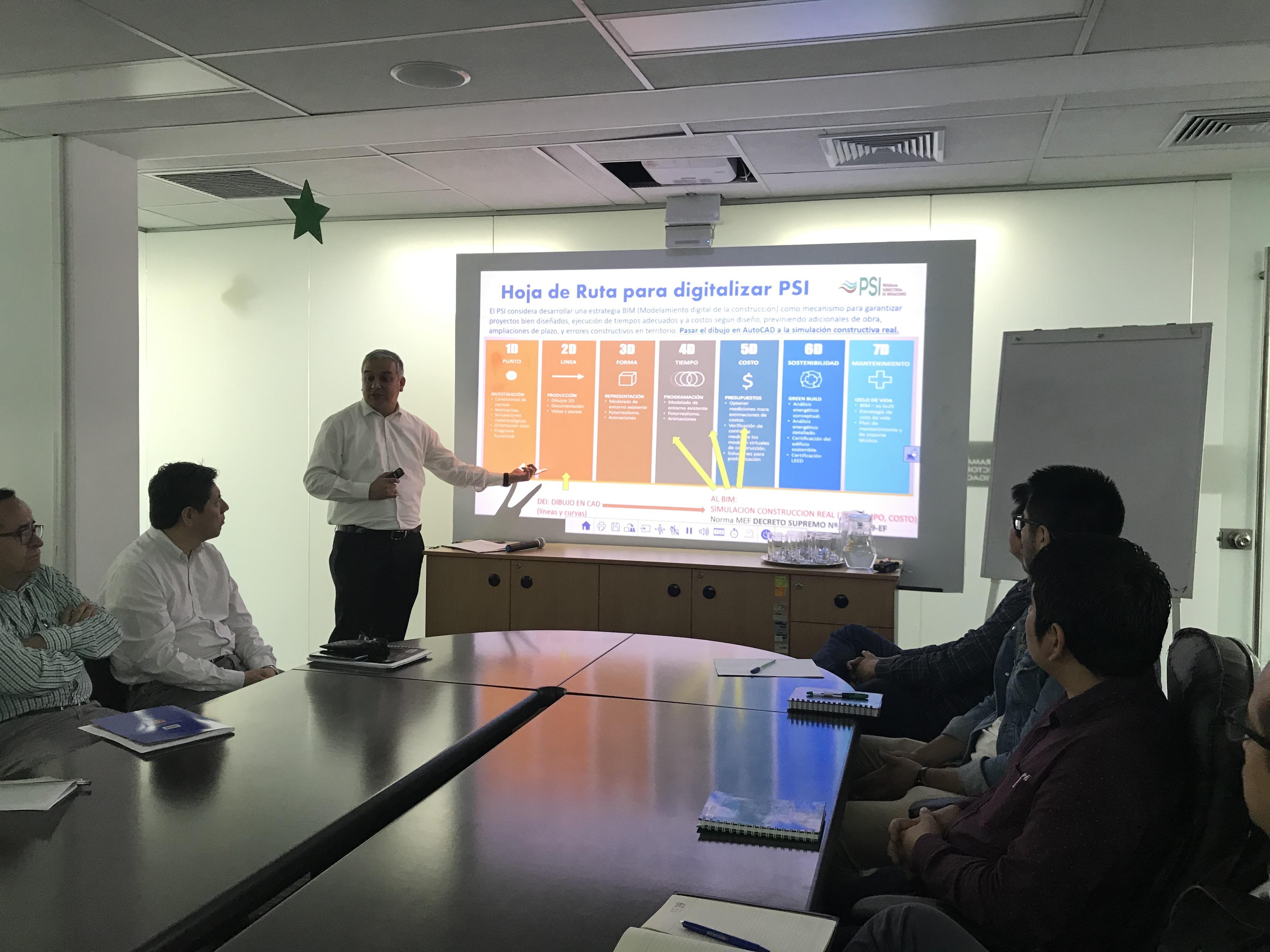 Evaluación del estado actual en tecnología del Area de Proyectos del PSI de MINAGRI